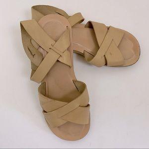 Kork-Ease Myrna Vachetta Platform Wedge Sandal